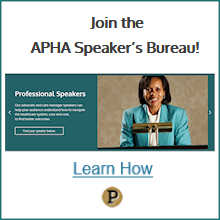link to learn about the speaker's bureau